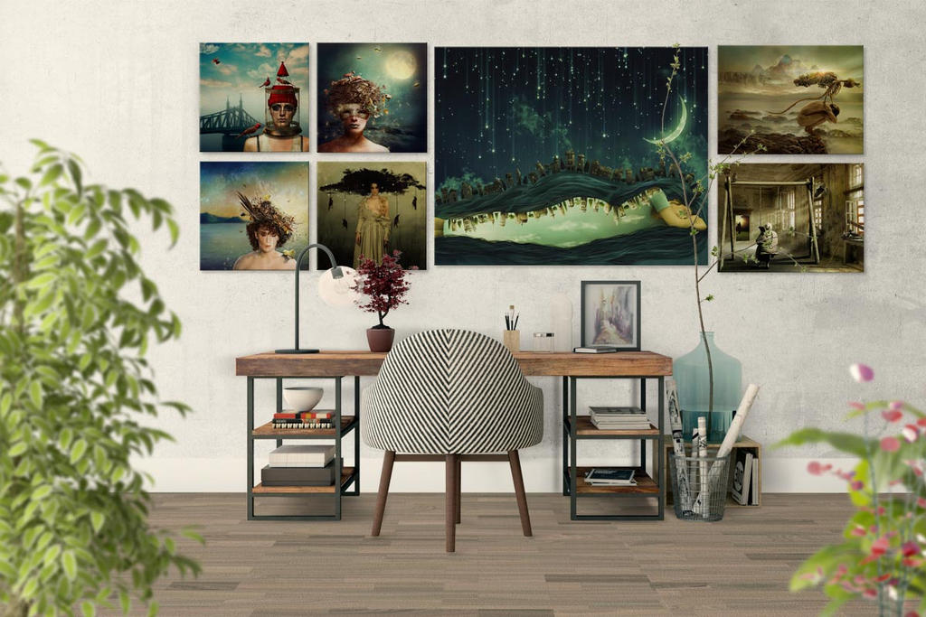 InteriorWithMyPictures by KingaBritschgi