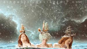 GirlsNightOut: the boobless version! by KingaBritschgi
