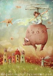 Swine Flew by KingaBritschgi