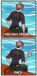 You may spank it - ONCE. by VeritasInDolos