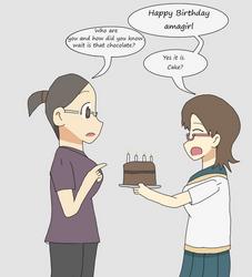 Birthday thing for amagirl