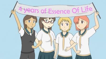 4 Year Anniversary by 00Stevo