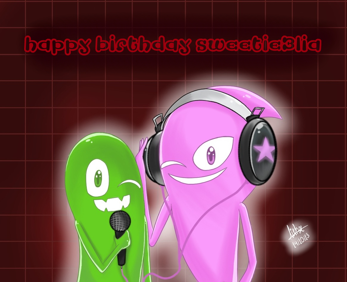 Happy Early Bithday For Sweetie3lia By Missesamy930 On