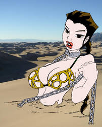Leia in quicksand by kforrest1