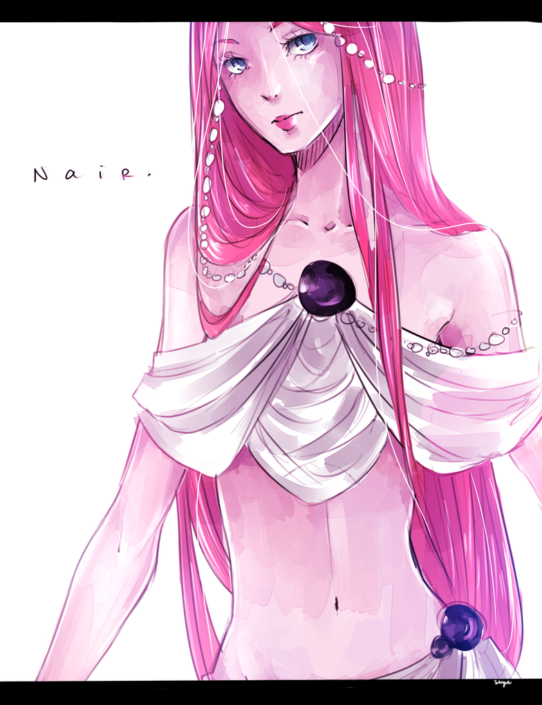 Nair Drawing by seyuri