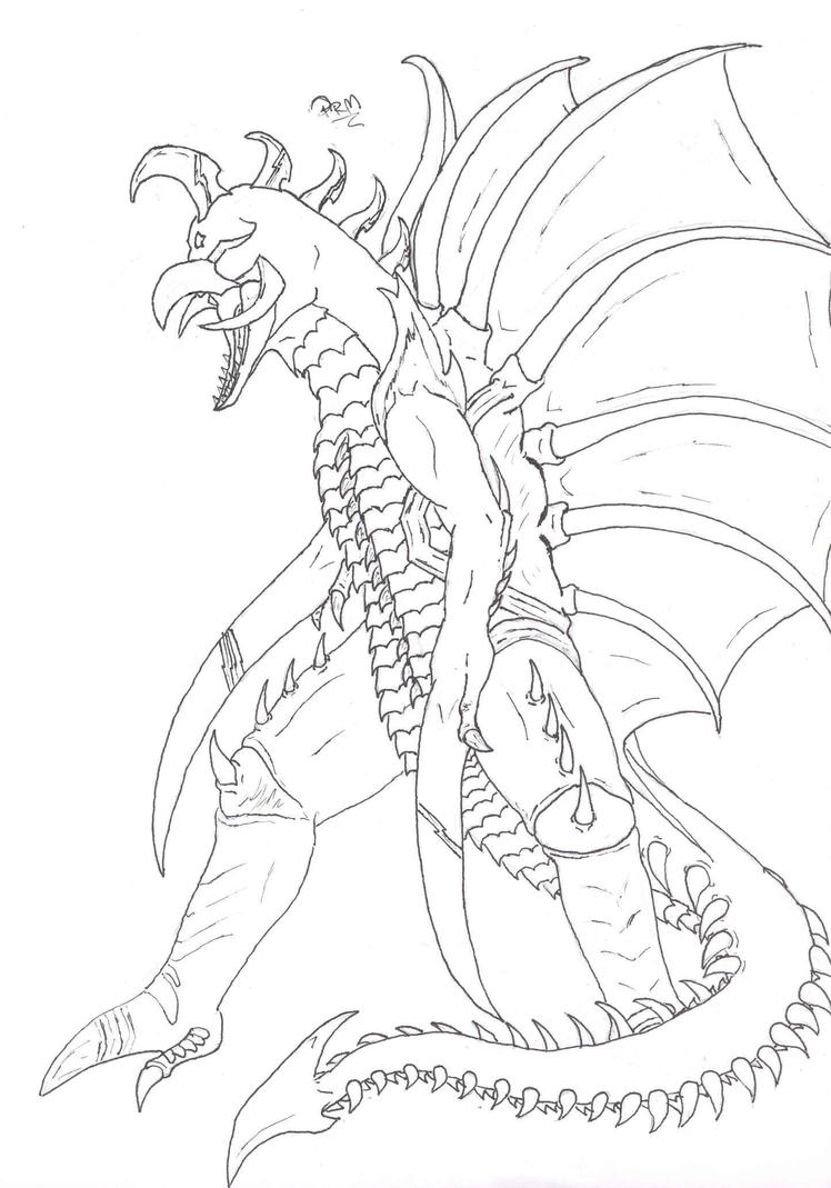 2014 godzilla movie poster coloring page h sketch coloring