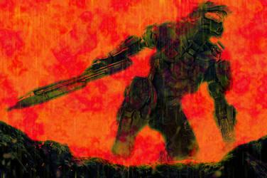 Halo 4_ Volcano