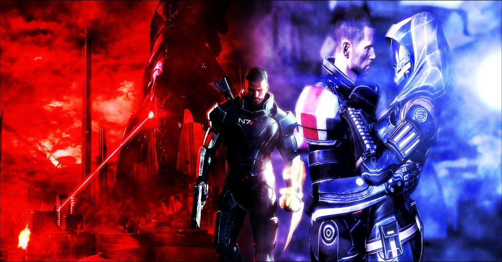 Mass Effect Le cauchemar et le reve de Shepard by CRL140