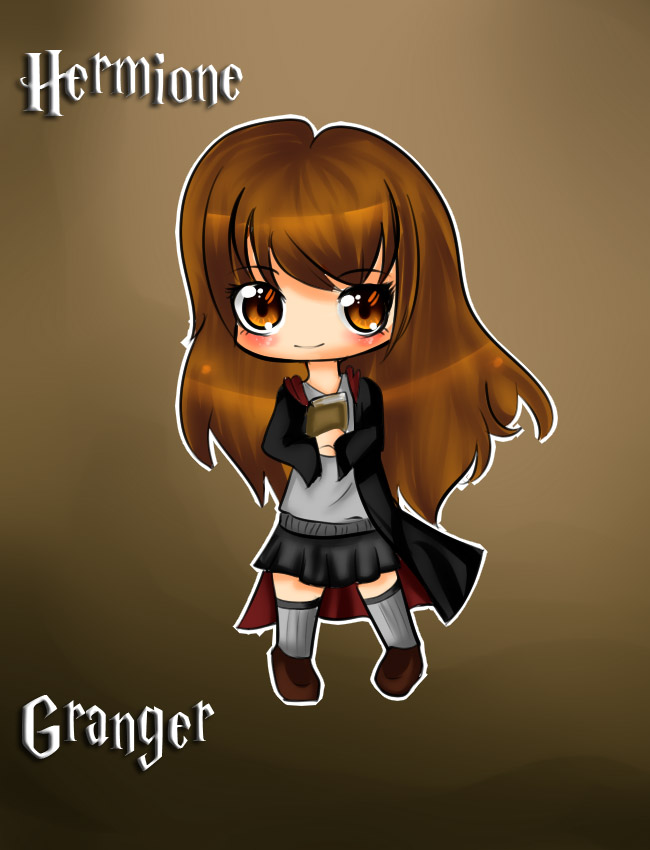 Chibi Hermione Granger by Yas-mi-ne