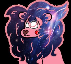 Steven Universe: Lion (Space mane) by PonyLove-aka-Fler