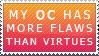 Flawed OC Stamp