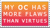 Flawed OC Stamp by Enjoumou