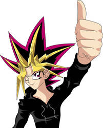 Thumbs Up: Another Yami Pic by Enjoumou