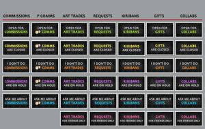 Status Stamps: Master List