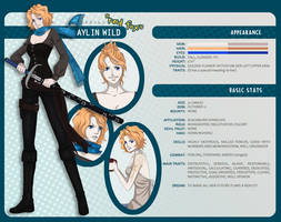 One Piece OC Profile: Aylin by Enjoumou