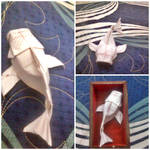 Origami Koi by ThangVuong