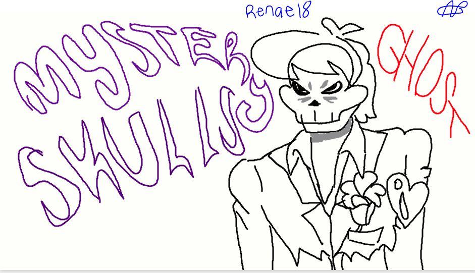 Mystery Skulls Ghost by renae14