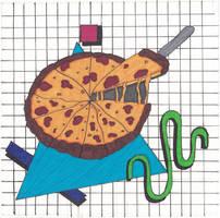 Inktober 31 - Slice