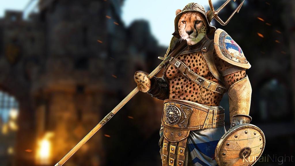 Gladiator X Cheetah by KuraiNight