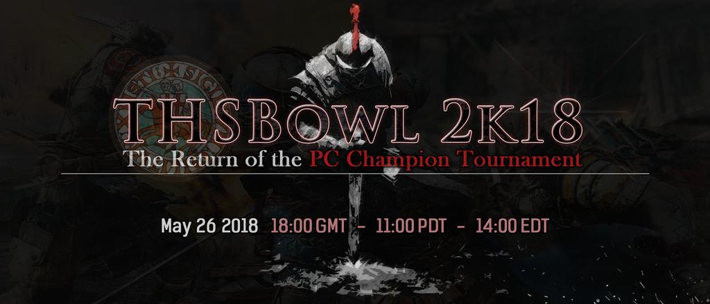 THSBowl 2k18 PC Champion Tournament Banner by KuraiNight