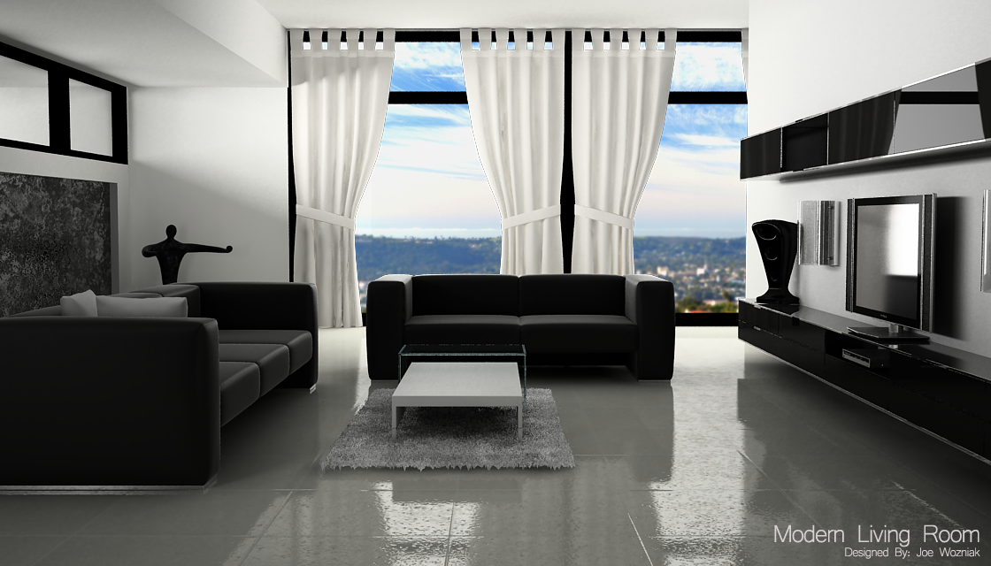 modern living room gallery on Modern Living Room By  Marlboromilds On Deviantart