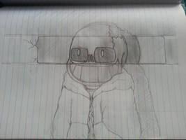 It Parody - Horrortale Sans by GlitchDestroyer3199