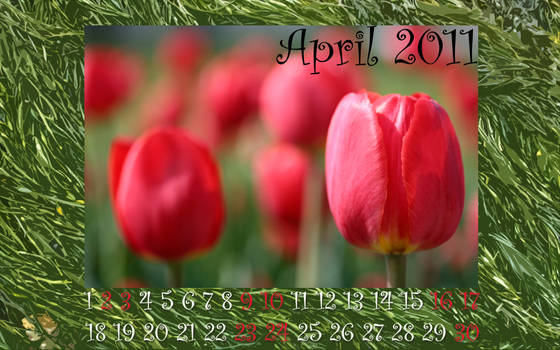 2Lips April Wallpaper