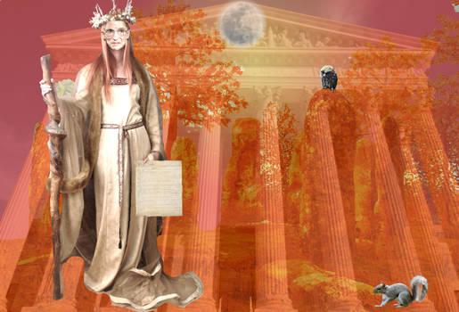 RBG Opera: Autumn Moon in the Standing Stones