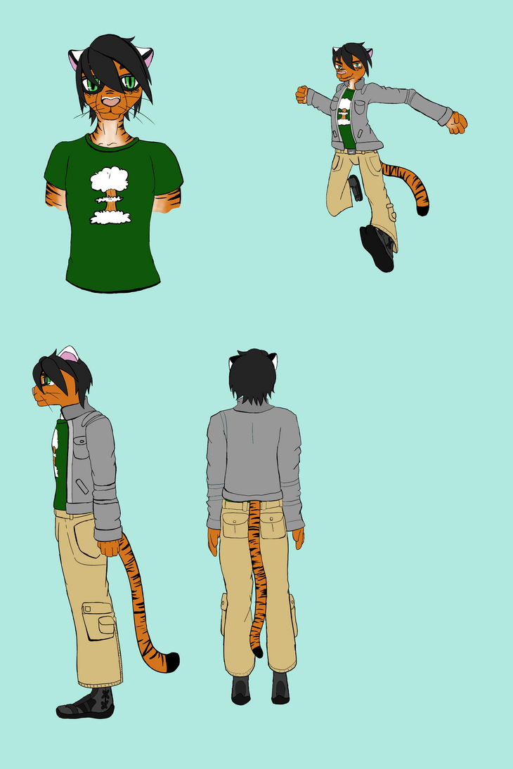Reference Sheet: Gagnesh Mritue by A-Fox-Of-Fiction