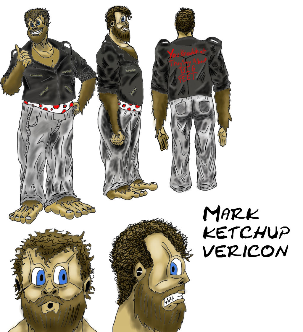 Reference Sheet: Mark Vericon by A-Fox-Of-Fiction