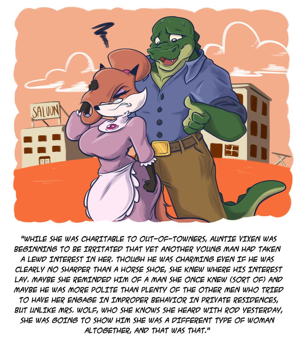Rod Garth meets Auntie Vixen by A-Fox-Of-Fiction