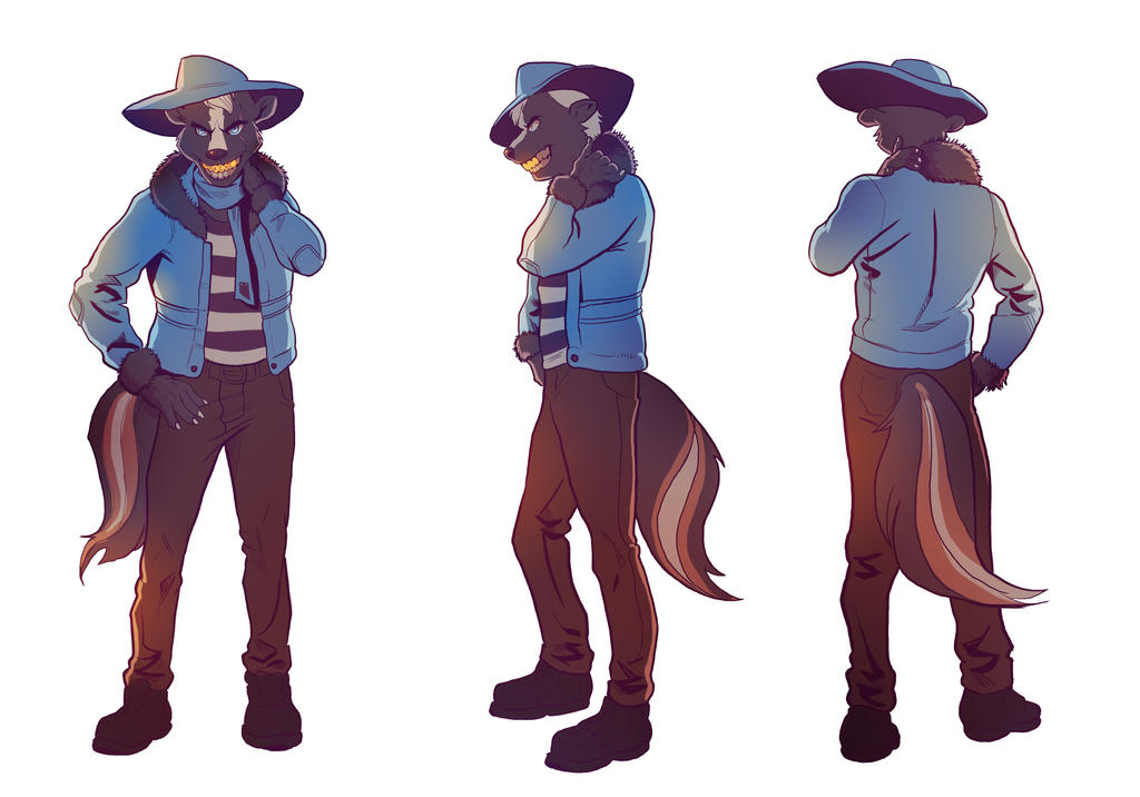 Reference Sheet: The Apache by A-Fox-Of-Fiction