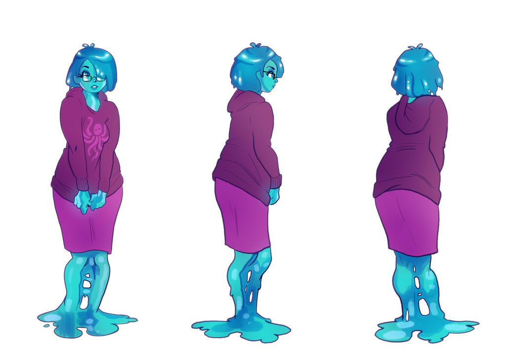 Reference Sheet: Flo Wing by A-Fox-Of-Fiction