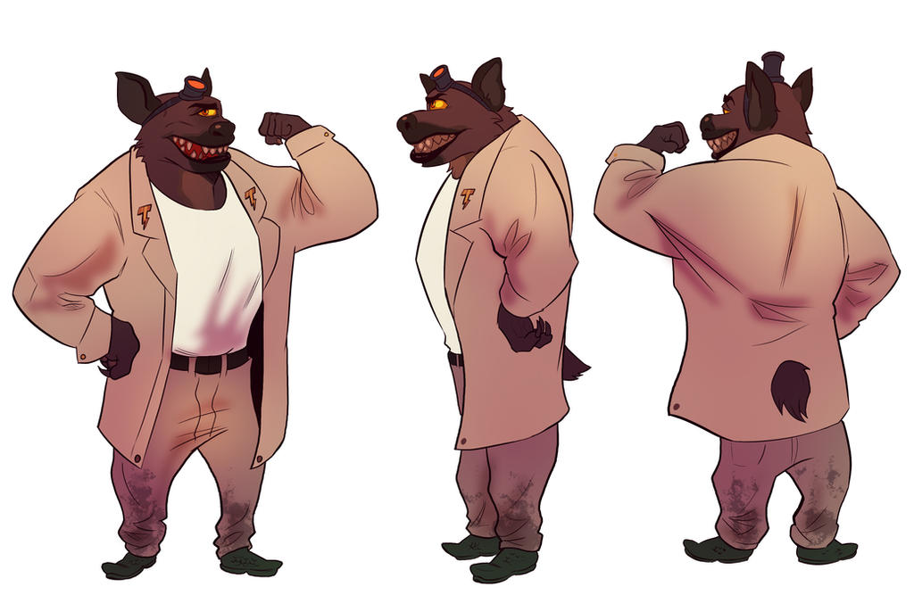 Reference Sheet: Reggie Trubaino by A-Fox-Of-Fiction