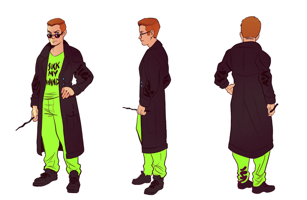 Reference Sheet: Colin Stratawas by A-Fox-Of-Fiction