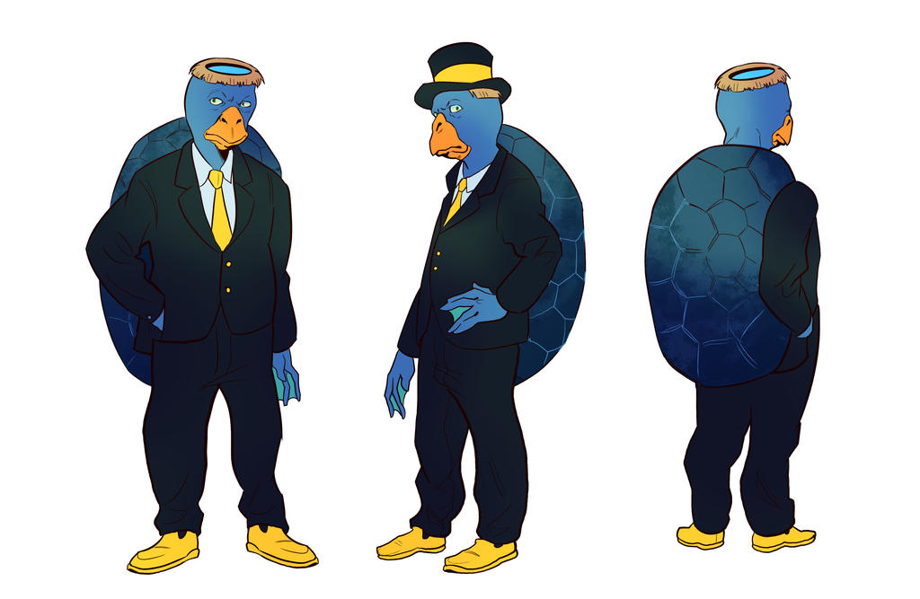 Reference Sheet: Perrimous Morgan by A-Fox-Of-Fiction