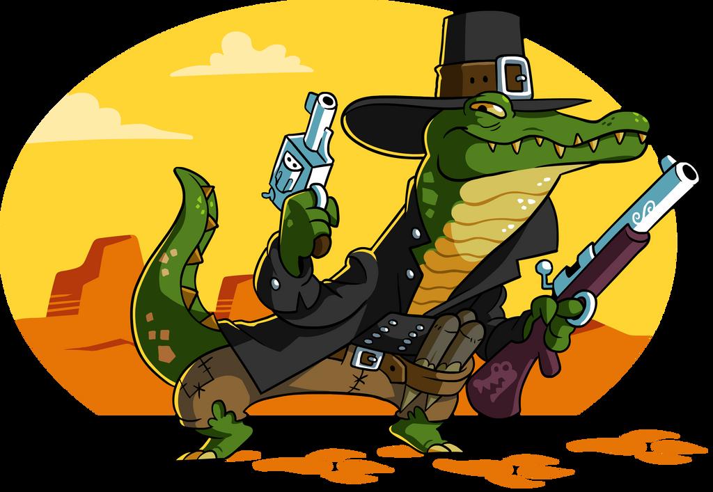 Gator on patrol by A-Fox-Of-Fiction