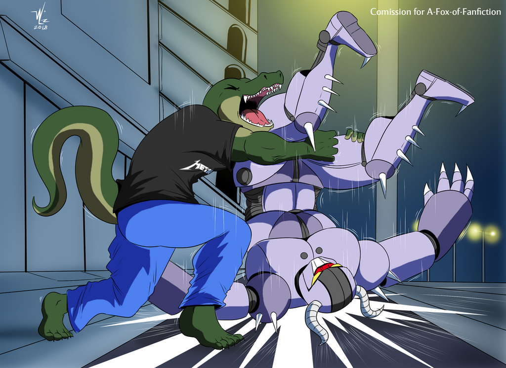 Alligator Powerbomb by A-Fox-Of-Fiction