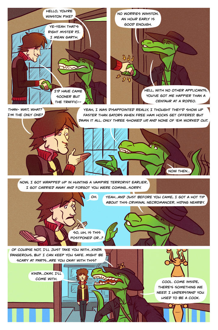 Death Valet Chapter One Page Ten by A-Fox-Of-Fiction