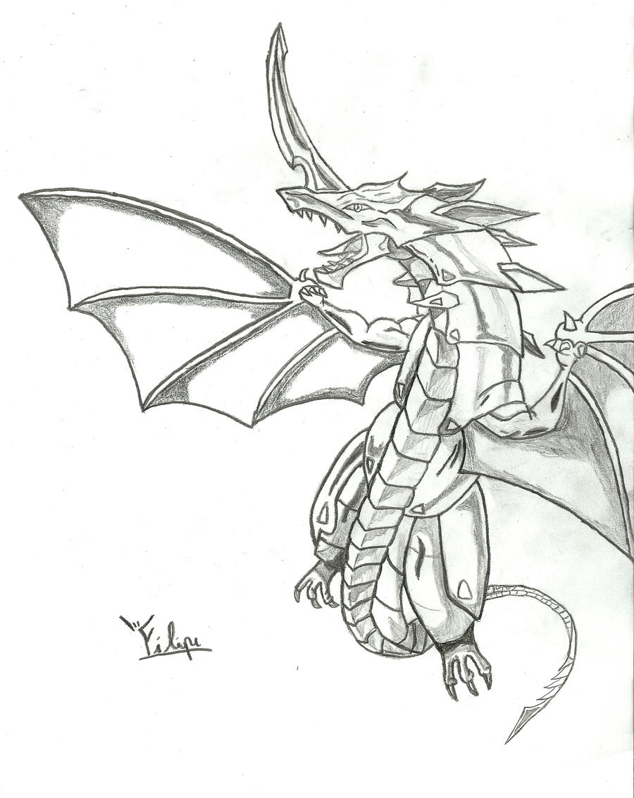 l drago coloring pages - photo #37