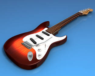 Fender Stratocaster WIP by DrAnkud
