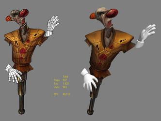 scarecrow clown by DrAnkud