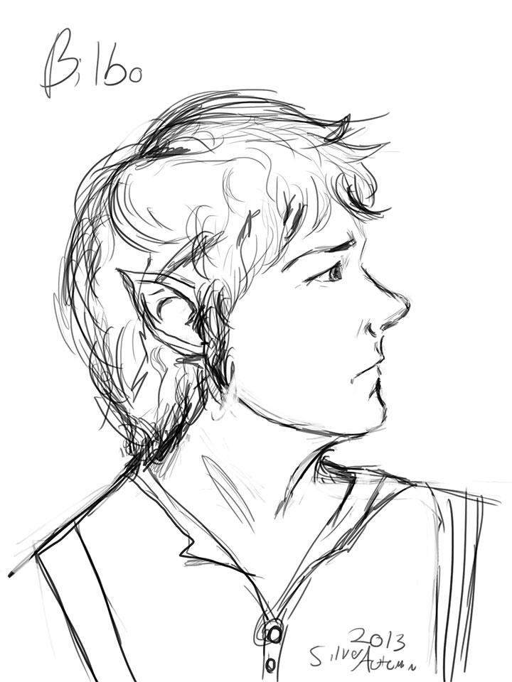 Bilbo Baggins Coloring Pages