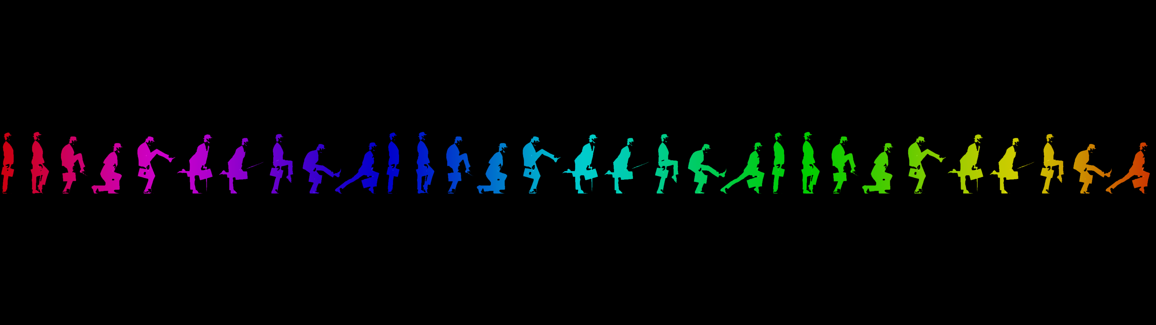 Portal 2 dual screen wallpaper gaming - Monty Python Ministry Of Silly Walks Dual Screen By