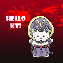 Hello KT by Bhryn