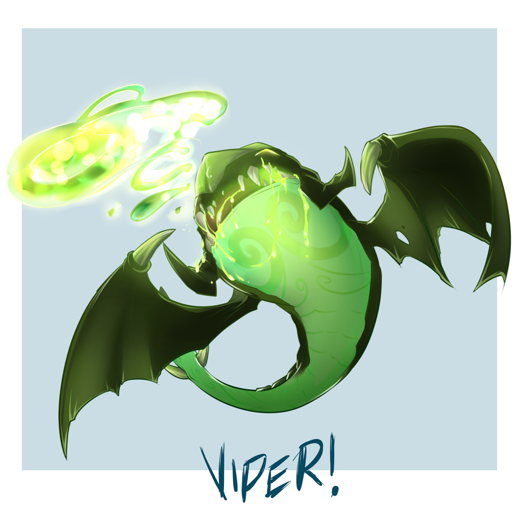 viper dota 2 by bhryn on deviantart