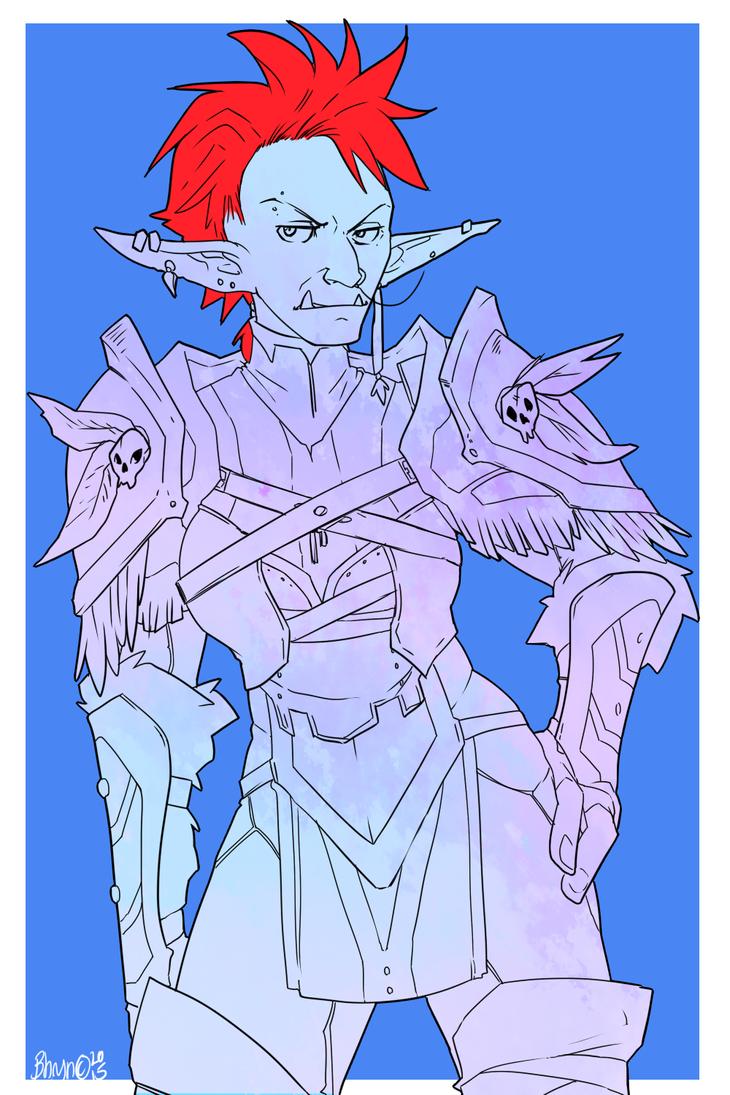 WoW: Trollhawk by Bhryn