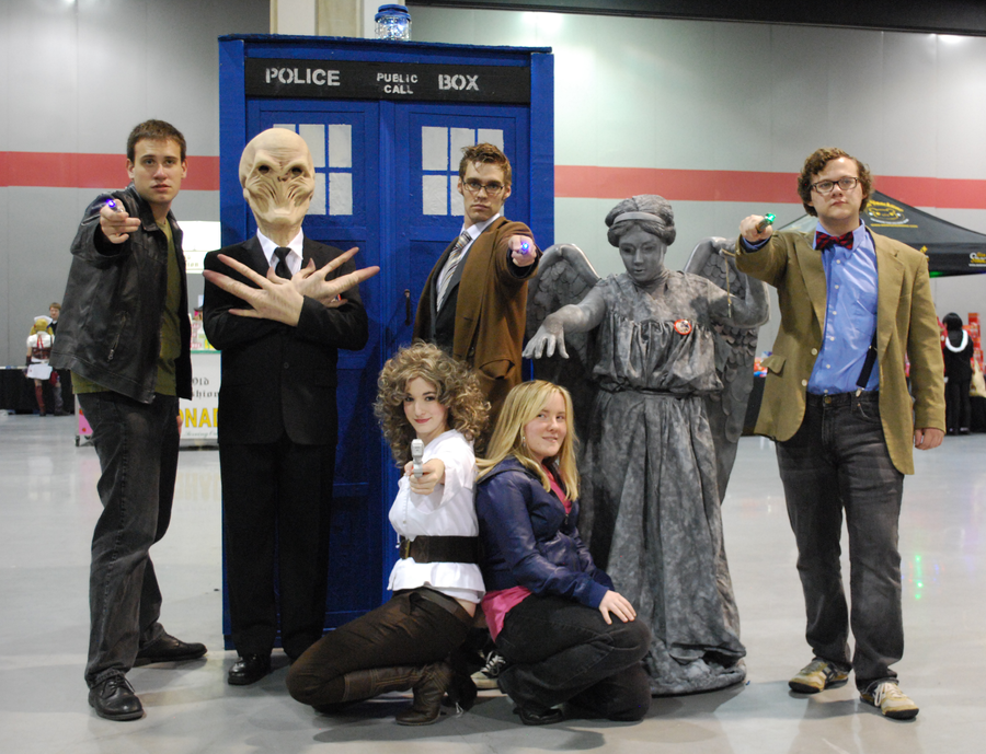 The Doctor Who Crew by StarlightWhispers