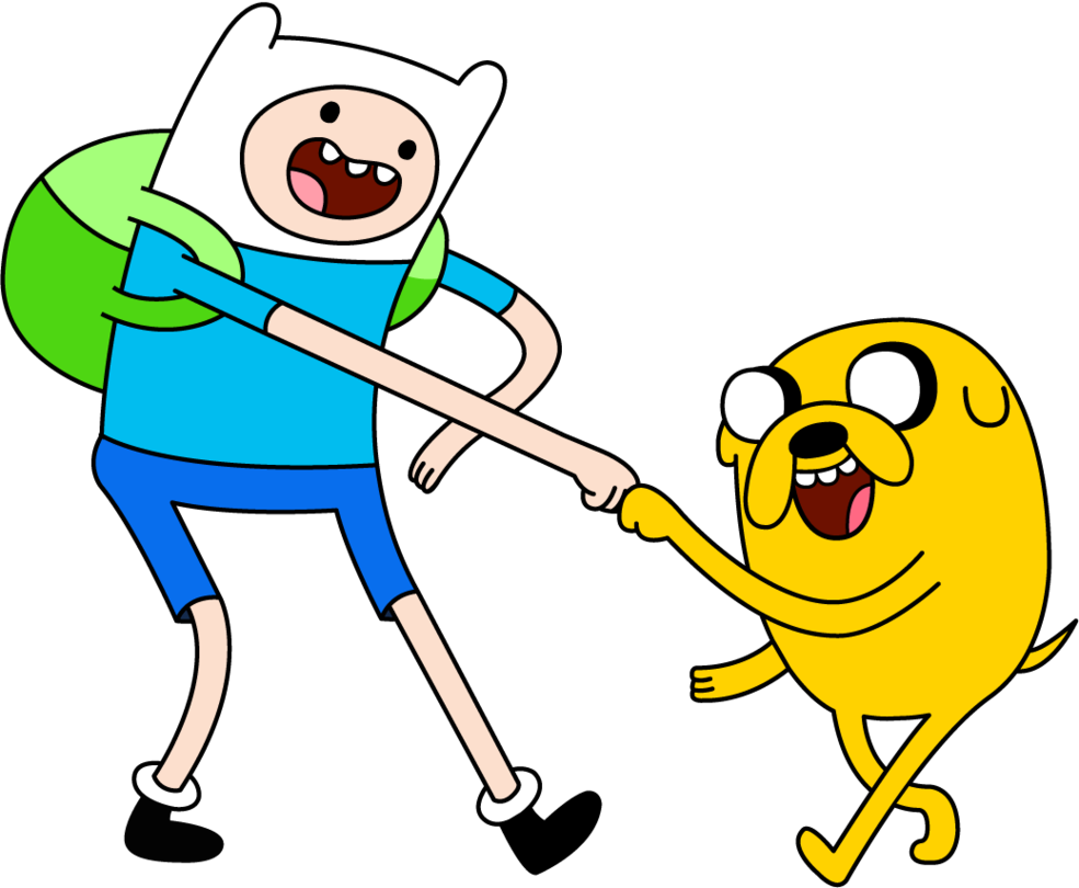 Finn and Jake by Sayyidatina