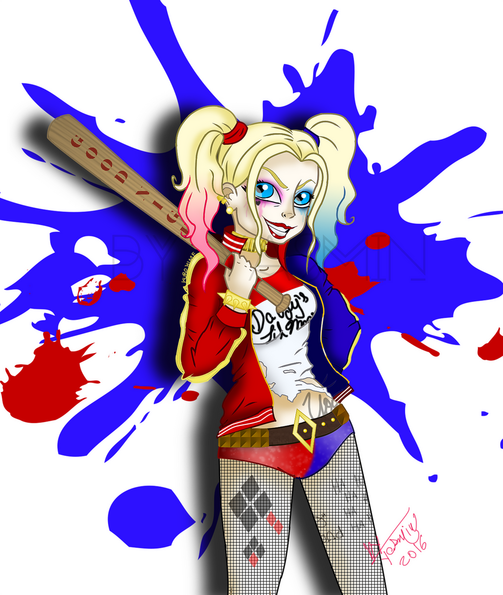 Harley Quinn - Suicide Squad +Fanart+ by ByYasmin
